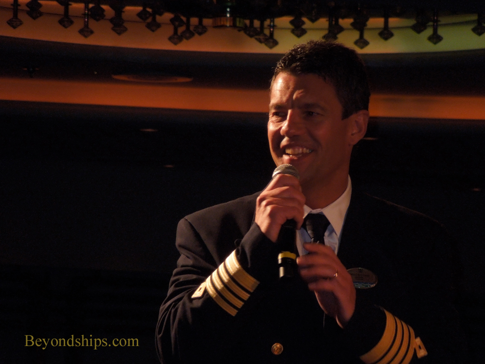 Captain Srecko Ban of Royal Caribbean's Vision of the Seas