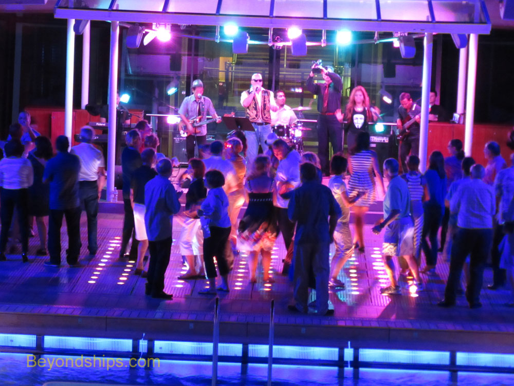 Celebrity Equinox deck party