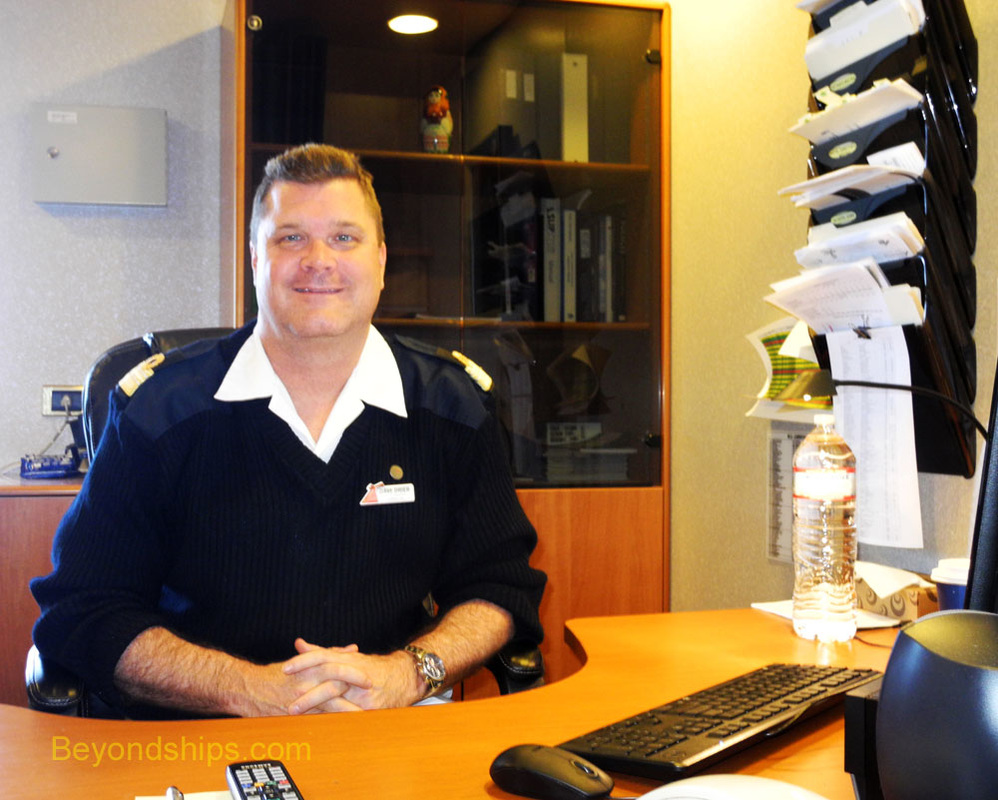 Hotel Director Dave Drier of Carnival Conquest