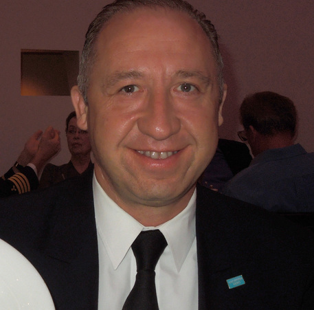 Hotel Director Richard Janicki of cruise ship Norwegian Epic