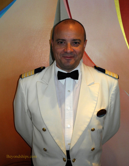 Hotel Director Francois Wache of Grandeur of the Seas cruise ship