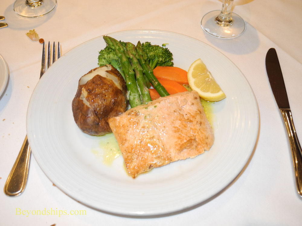 Dinner from Romeo and Juliet Dining Room on Legend of the Seas