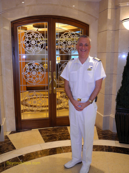 Martin Bristow, Hotel General Manager on Royal Princess