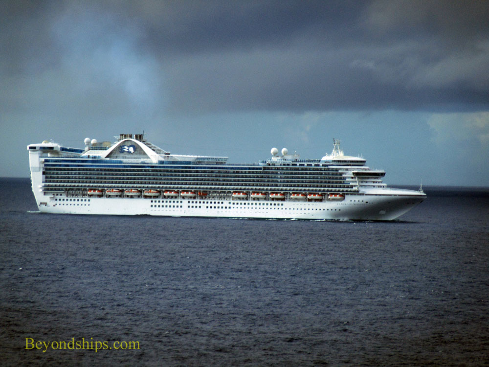 Cruise ship Caribbean Princess