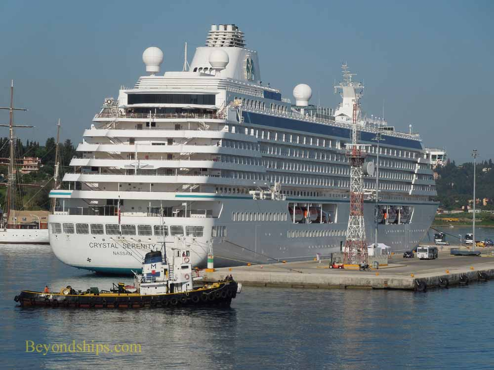 Crystal Serenity, cruise ship