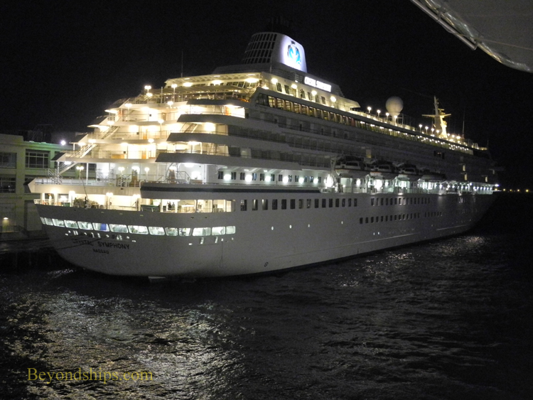 Picture cruise ship Crystal Symphony