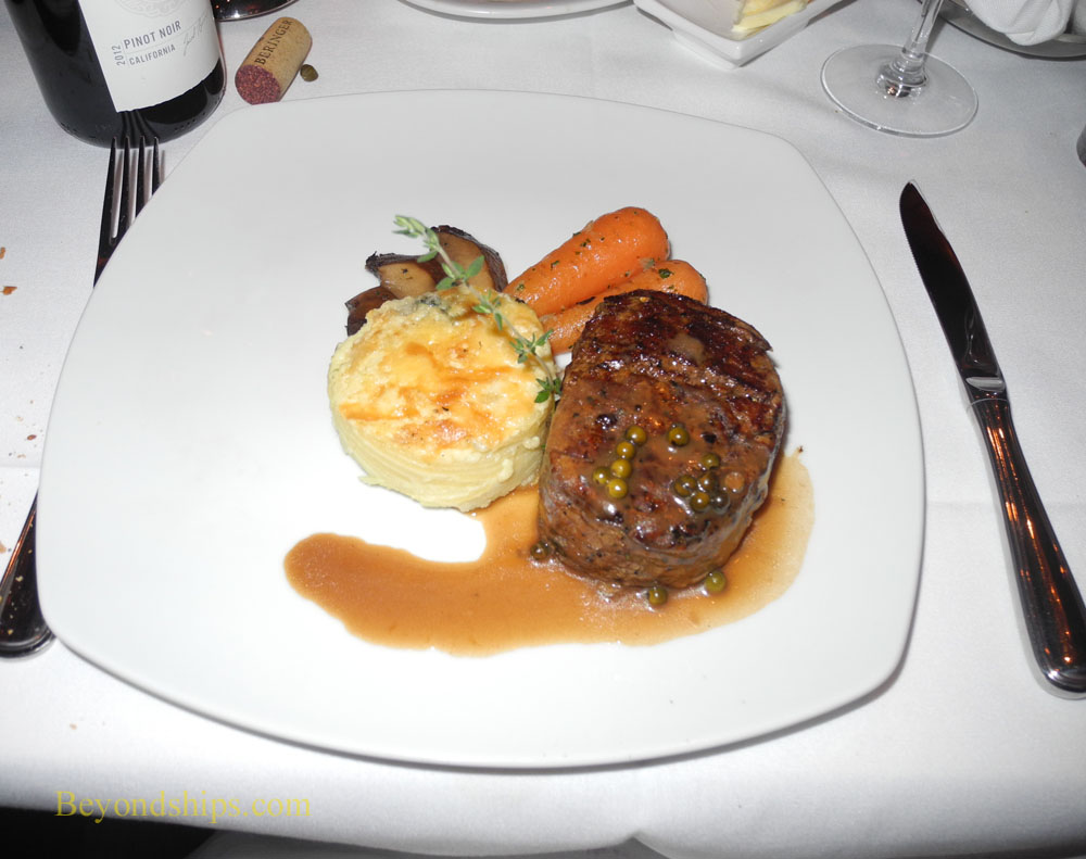Filet de boeuf, Le Bistro, Norwegian Getaway