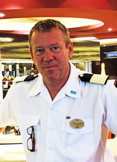 Hugo Vanosmael Hotel Director of Norwegian Breakaway cruise ship