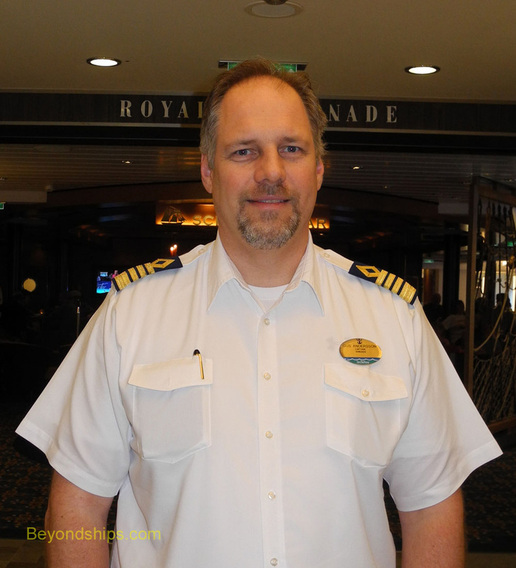 Captain Gus Andersson of Quantum of the Seas