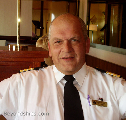 Picture of David Hamilton of Cunard Line's ship Queen Victoria