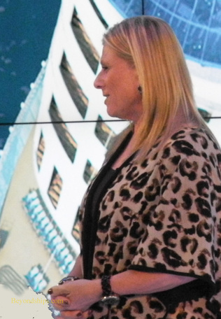 Lisa Lutoff-Perlo, Executive Vice President of Operations, Royal Caribbean International