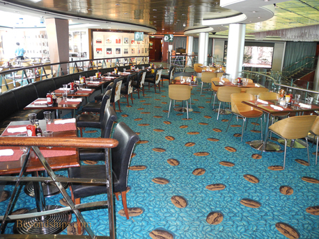 Picture Blue Lagoon Restaurant Norwegian Jewel