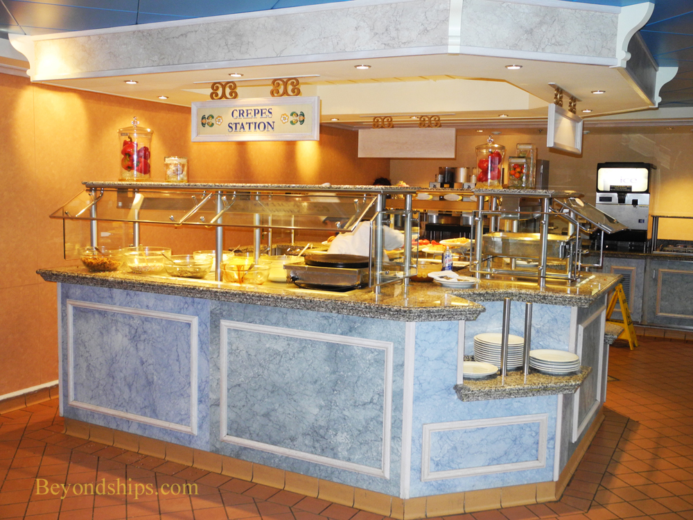 Picture Norwegian Jewel buffet