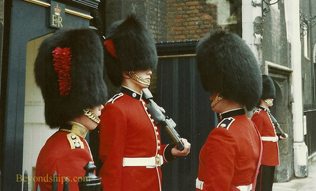 Coldstream Guards inspection