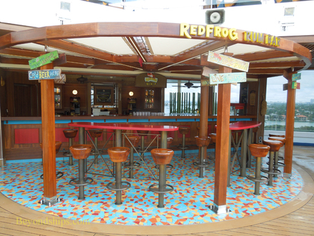 Picture Red Frog Rum Bar on cruise ship Carnival Breeze