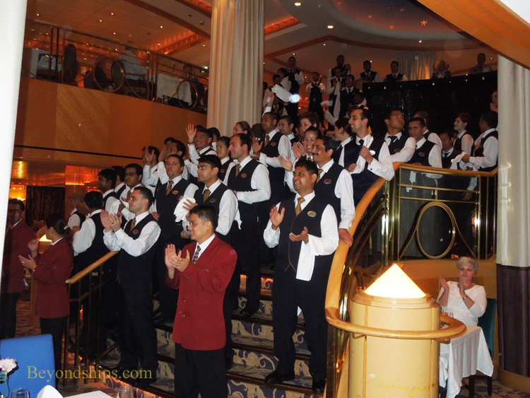 Picture Brilliance of the Seas waiters