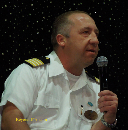 Richard Janicki of Norwegian Epic cruise ship