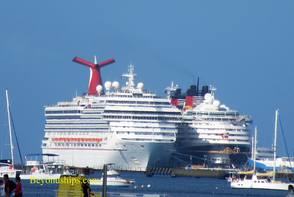 Carnival Freedom and Disney Magic