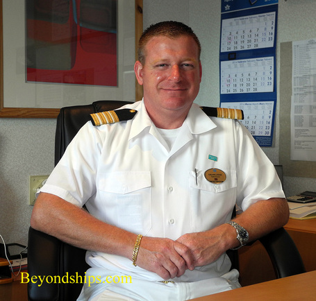 Calvin Lodge, Hotel Director, Norwegian Sky cruise ship