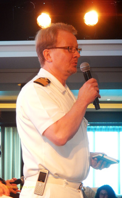 Captain Tommy Stensrud of Norwegian Getaway