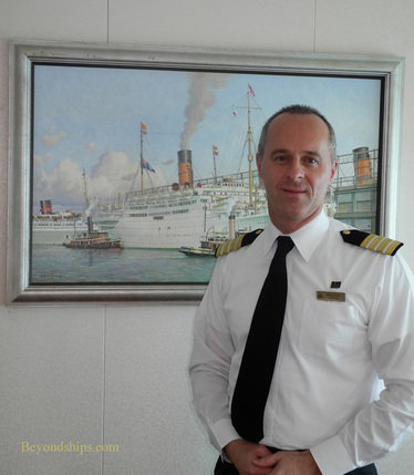 Hotel Manager Robert Howie of Queen Mary 2