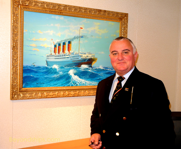 Picture of Paul O'Loughlin of Cunard Line