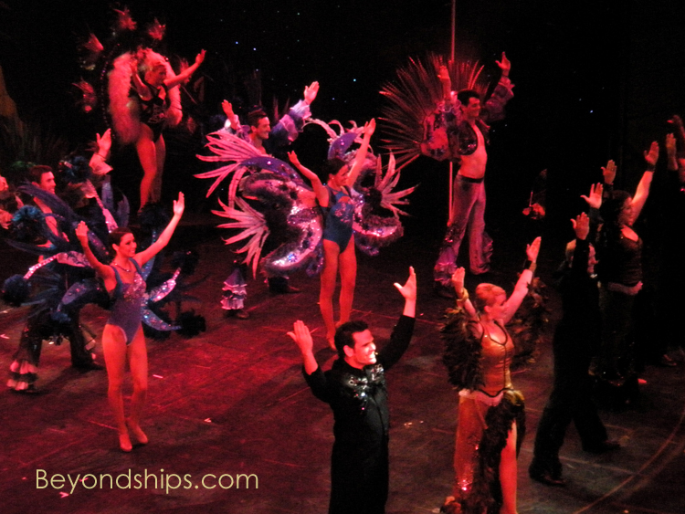 Cruise ship Celebrity Constellation show
