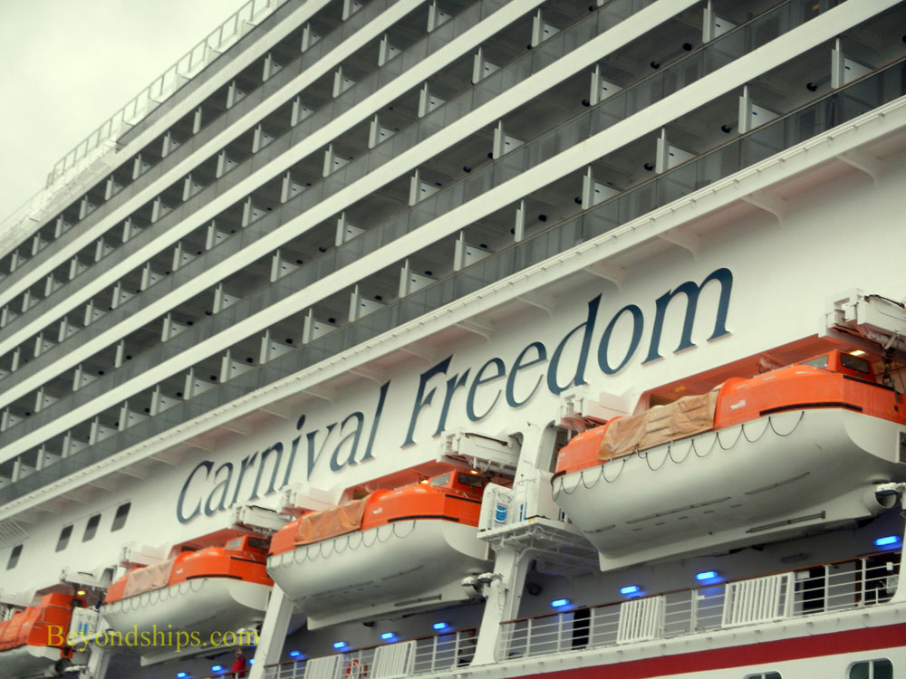 Carnival Freedom cruise ship