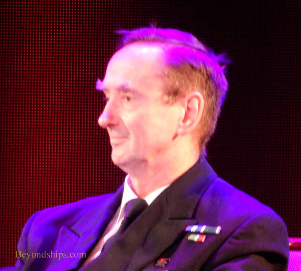 Captain Christopher Wells of Queen Mary 2