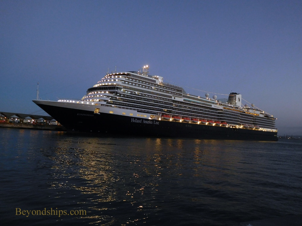 Koningsdam cruise ship