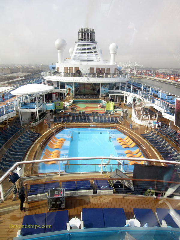 Quantum of the Seas, North Star view