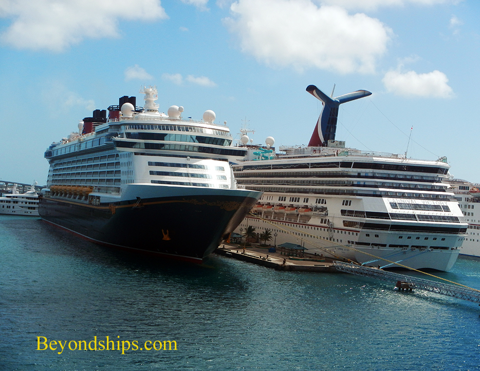 Disney Dream and Carnival Victory