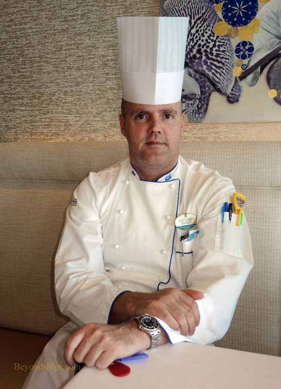 Executive Chef Gary Thomas of Anthem of the Seas