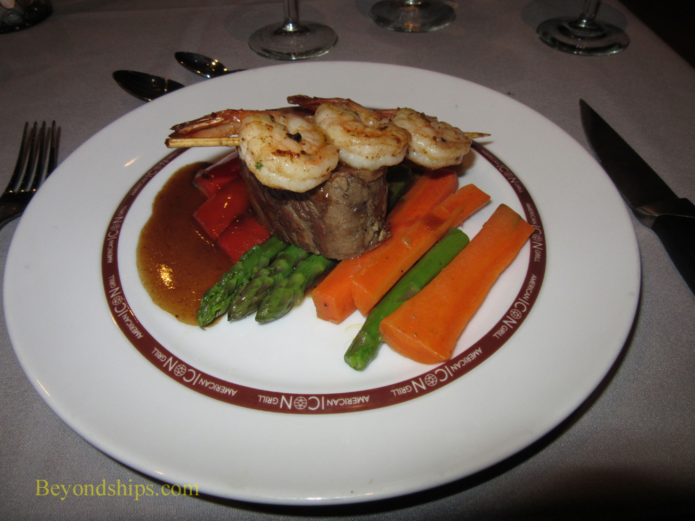 dinner, cruise ship Anthem of the Seas