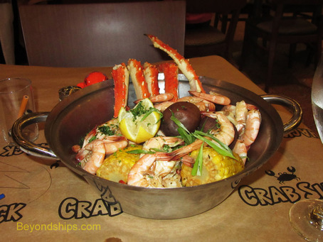 Crab Shack on Royal Princess