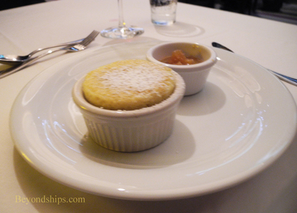Souffle at the Epic Club on cruise ship Norwegian Epic