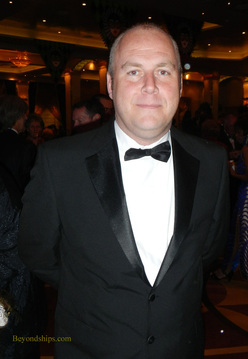 Michael Gallagher of Cunard
