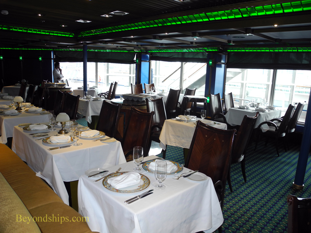 Carnival Glory cruise ship Emerald Steakhouse