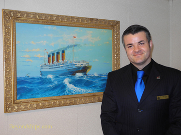 Entertainment Director Keith Maynard of Queen Mary 2