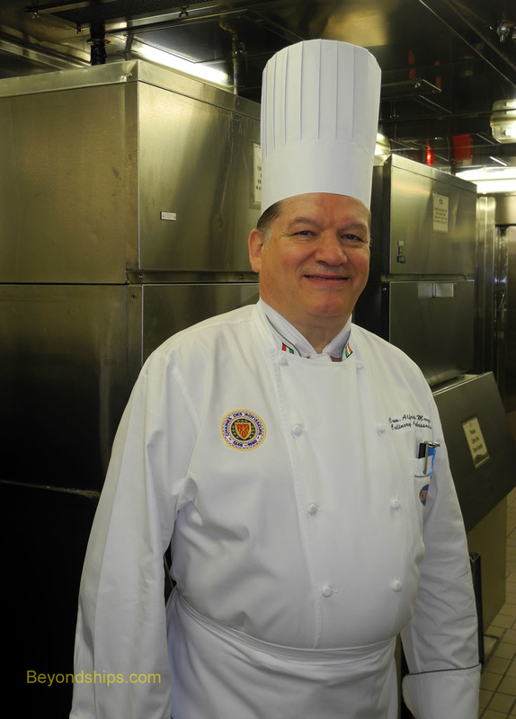 Master Chef Alfredo Marzi of Princess Cruises