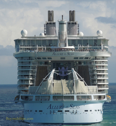Picture Allure of the Seas  at sea