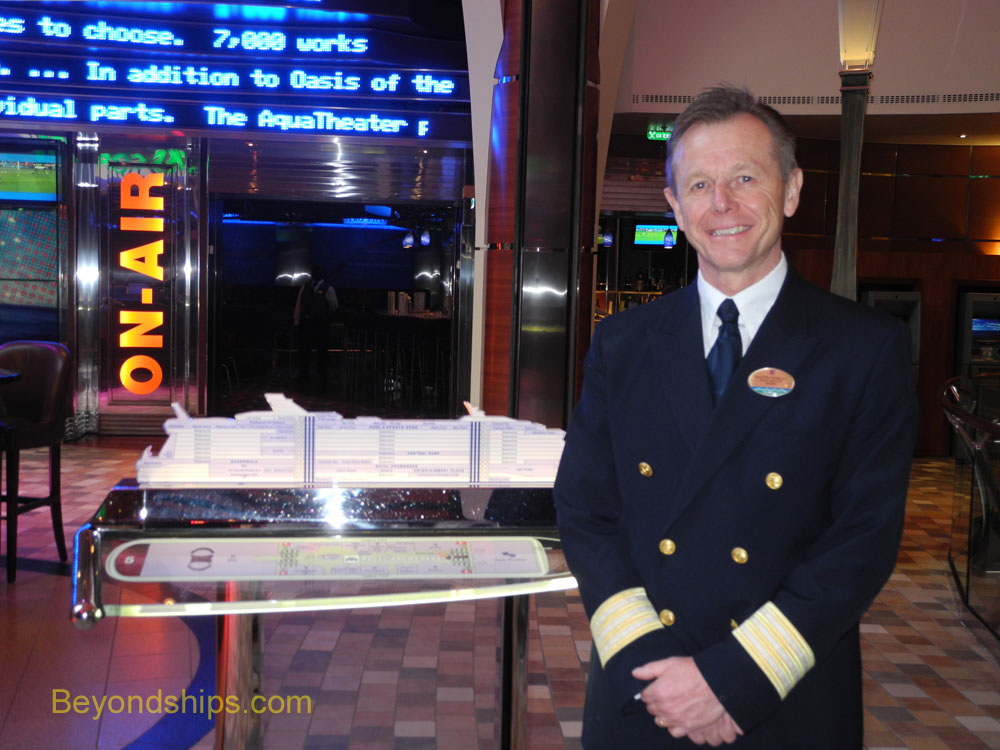 Hotel Director Martin Rissley of Oasis of the Seas