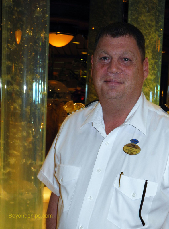 Hotel General Manager Timothy Ellis of Coral Princess