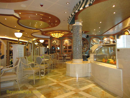 CGelato ice cream parlor on Royal Princess