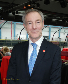 Cunard CEO David Dingle