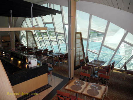 Izumi restaurant on Grandeur of the Seas