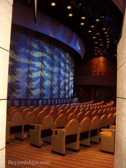 The theater on cruise ship Ventura.