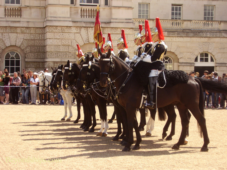 Changing of the Guard, Blues and Royals