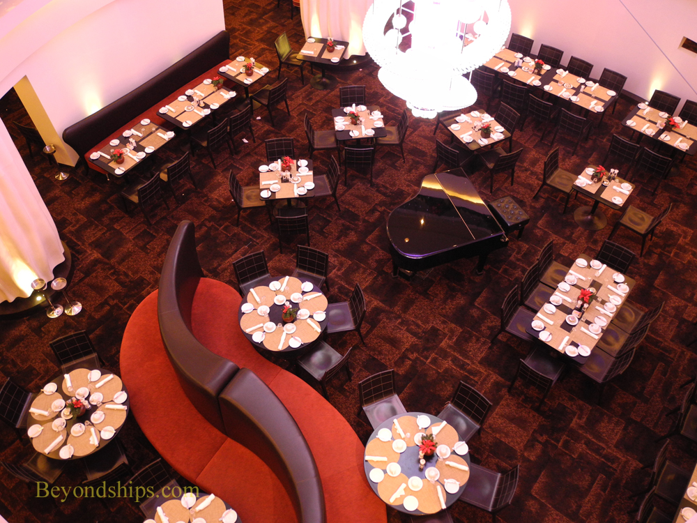 Picture the Taste dining room on cruise ship Norwegian Epic