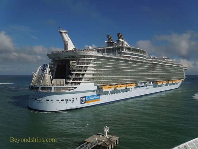 Picture Allure of the Seas entering Falmouth harbor Jamaica
